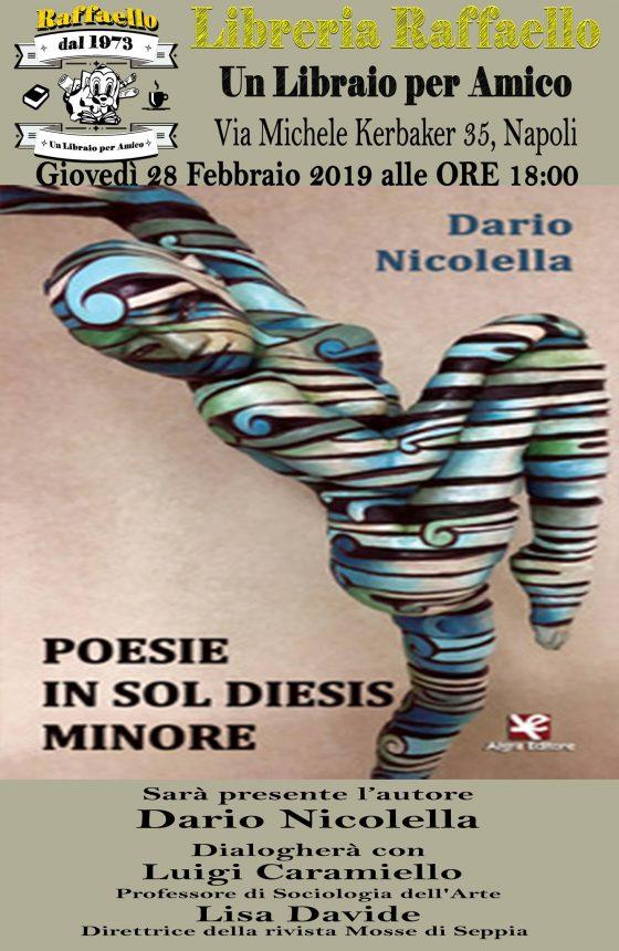 Dario Nicolella Libro Poesie In Sol Diesis Minore Fa Riferimento